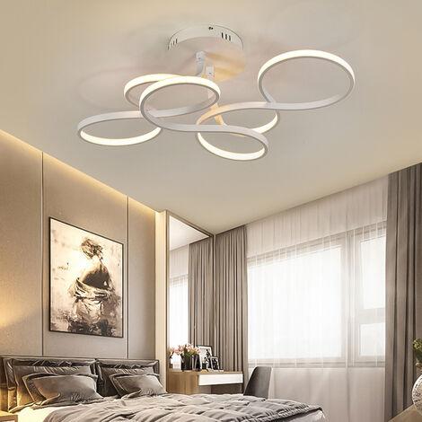 70CM Modern LED Chandelier Ceiling Light , Cool White