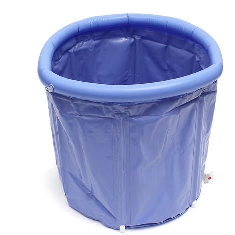 70cm Portable Bathtub Adult Inflatable Pvc Folding Bathtub Gift No??L Spa Hasaki