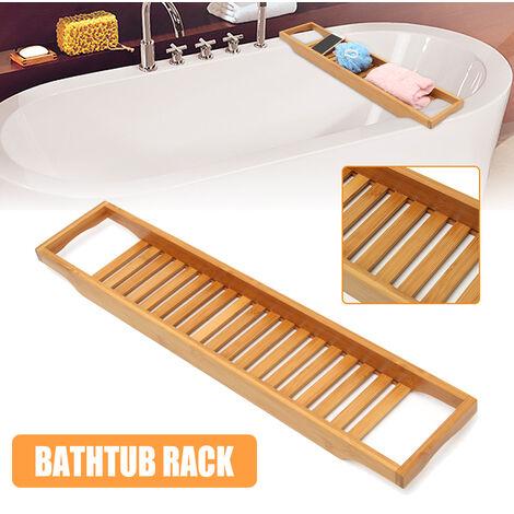 70cm Soporte para bañera Soporte para bañera Caddies Estante Bandeja para teléfono Soporte para soporte Estantes de almacenamiento