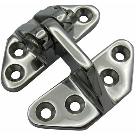 """main image of """"70MM X 67MM Heavy Duty Hatch Hinge Stainless Steel - Seperating Angle Door Fastner Clevis Pin"""""""
