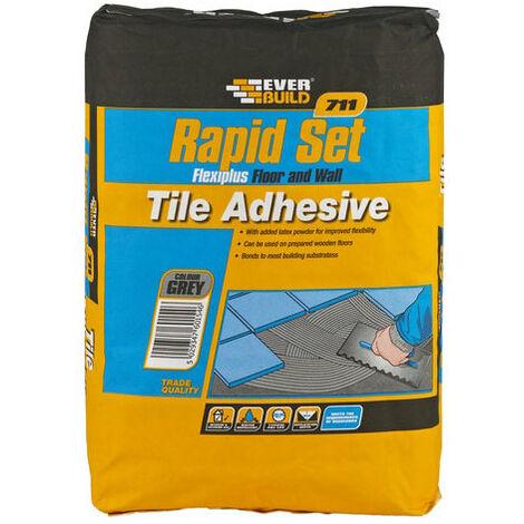 711 Rapid Set Flexiplus Tile Adhesive