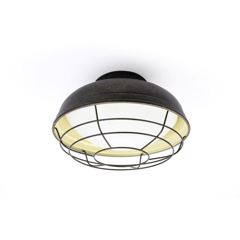 71159 - Helmet Lampada Plafoniera Marrone Ossideo - FARO