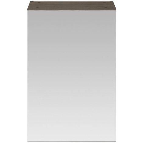 715 x 450mm Bathroom Mirror Cabinet Wall Mounted Brown Grey Storage Cupboard