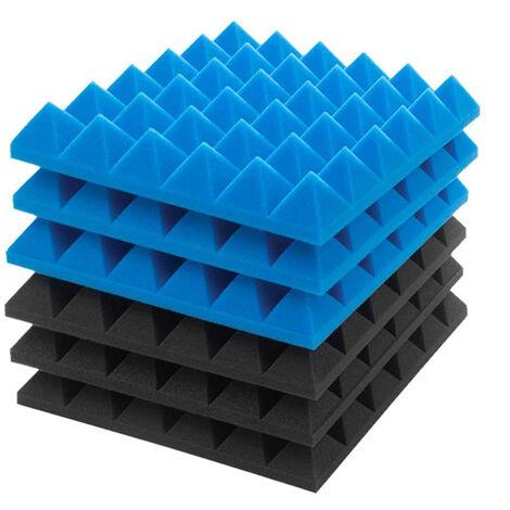 """main image of """"72/24/12/6/1PC 30x30x5CM Durable Soundproof Acoustic Foam Sponge Noise Reduce Studio Wall Tiles Studio Equipment Acoustic Panel"""""""
