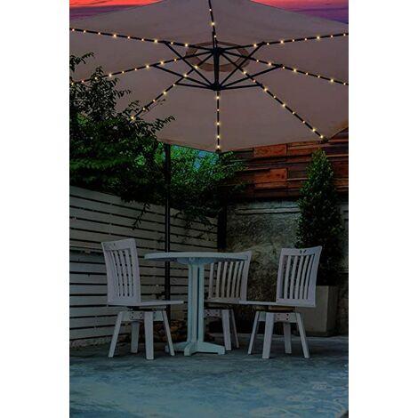 "main image of ""72 LED Solar Parasol Chain Light"""