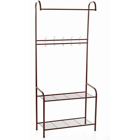 72X32X165Cm Metal Clothes Garment Rack Rack Clothes Clothing Clothes Stand Rack Storage Shelf Hanger Space Saving Hasaki