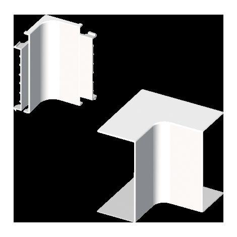 73 Ángulo interior blanco RAL9010 40x40 U24X UNEX 73320-2