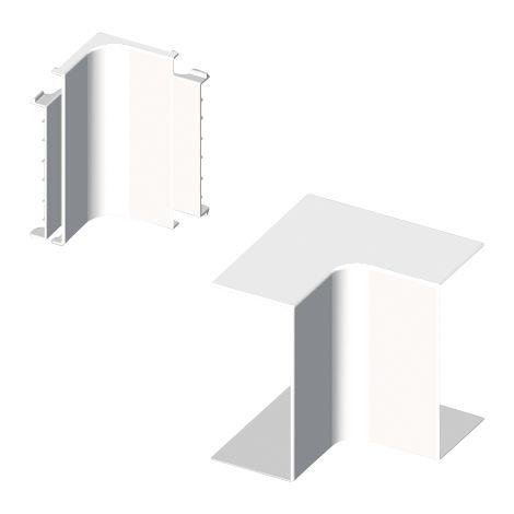 73 Ángulo interior blanco RAL9010 60x150 U24X UNEX 73335-2