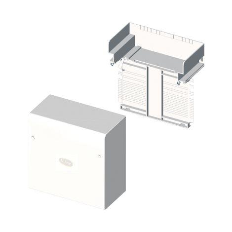 73 Caja de conexión-derivación blanco RAL9010 60x150 U24X UNEX 73485-2