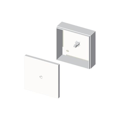 73 Caja de conexión-derivación blanco RAL9010 85x85 U24X UNEX 71451-2