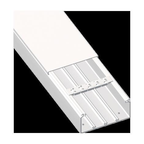 73 Canal blanco RAL9010 40x40 U23X UNEX 73020-2