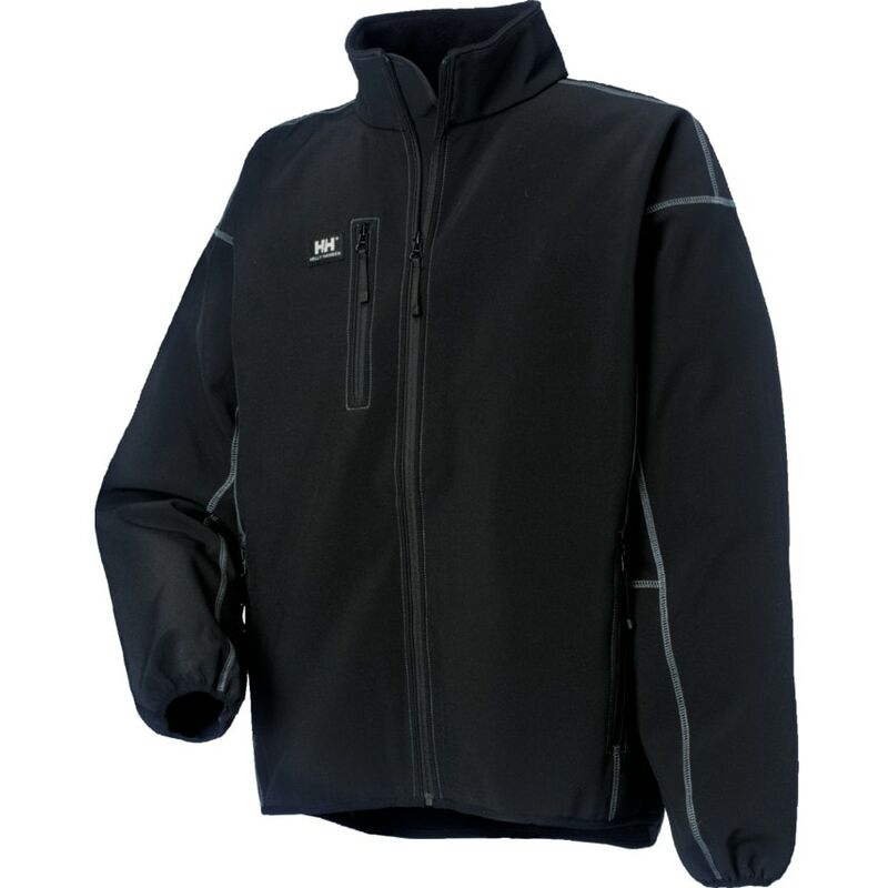 Image of Helly Hansen 74002 Madrid Black Jacket - Medium