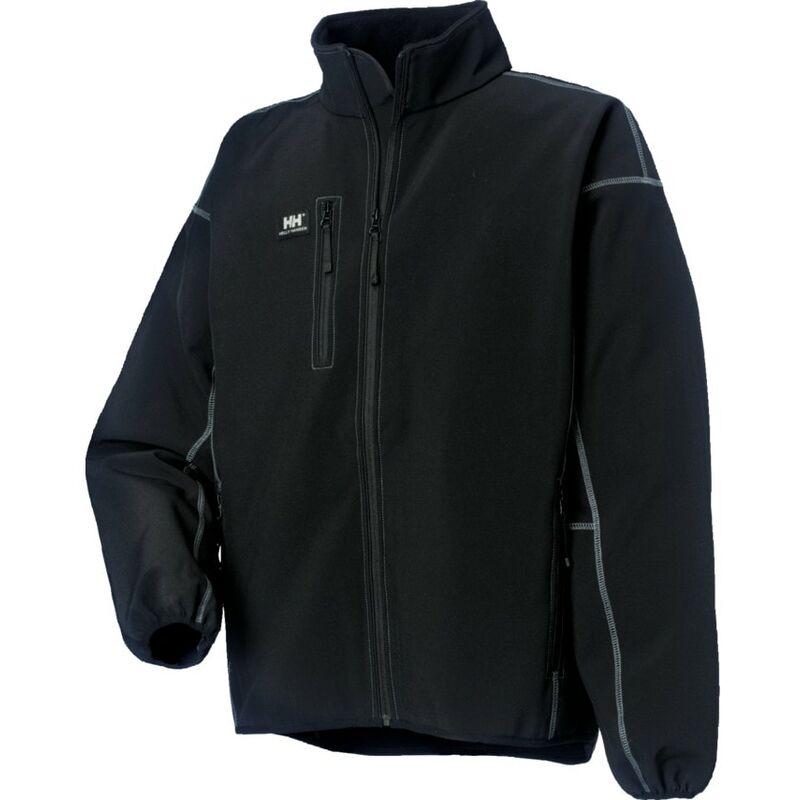 Image of Helly Hansen 74002 Madrid Black Jacket - Large