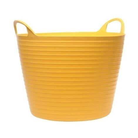 75 Litre Flexi Tub Bucket Yellow