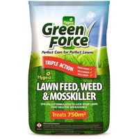 750 M2 Greenforce Lawn Weed Feed & Moss Killer