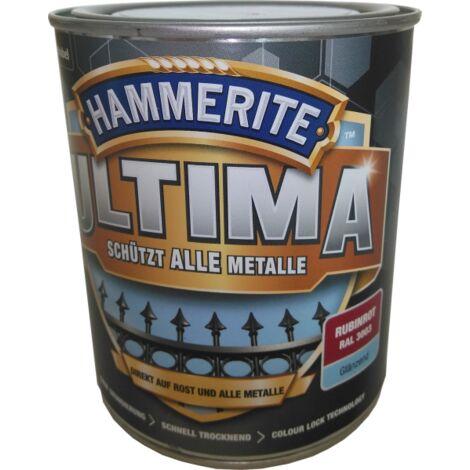 750ml Hammerite ULTIMA MSL glänzend Rubinrot