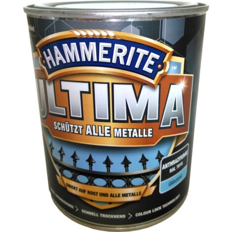 750ml Hammerite ULTIMA MSL glz. Anthrazitgrau