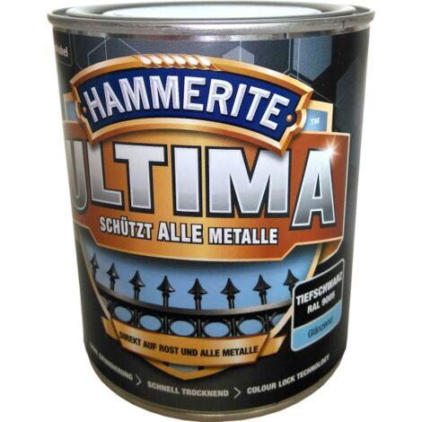 750ml Hammerite ULTIMA MSL glz. Tiefschwarz