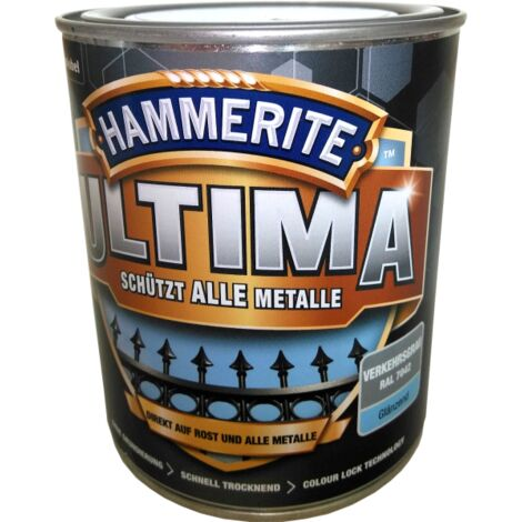 750ml Hammerite ULTIMA MSL glz. Verkehrsweiß
