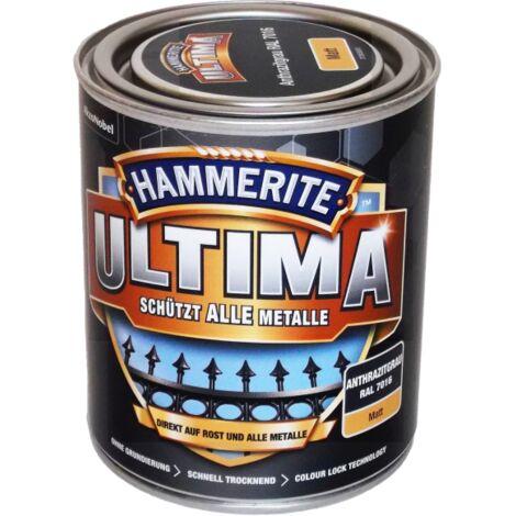 750ml Hammerite ULTIMA MSL matt Anthrazitgrau