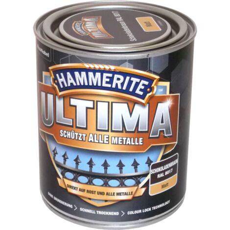 750ml Hammerite ULTIMA MSL matt Schokoladenbraun