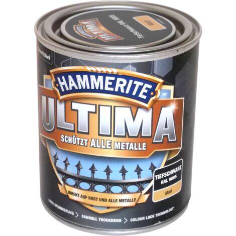 750ml Hammerite ULTIMA MSL matt Tiefschwarz
