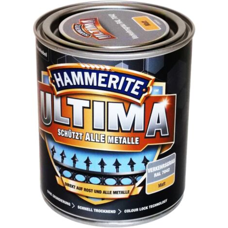750ml Hammerite ULTIMA MSL matt Verkehrsgrau