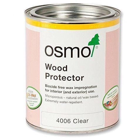Osmo Wood Protector Interior and Exterior Protection - Clear - 750ml