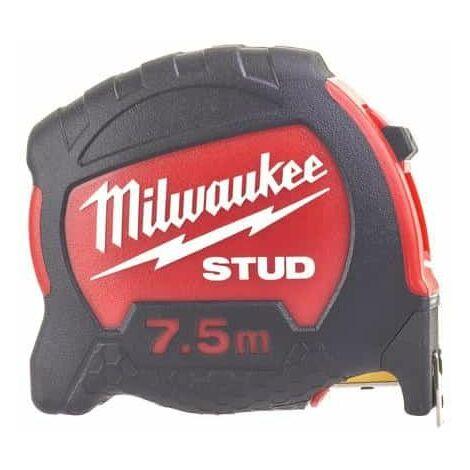 7.5m cinta métrica MILWAUKEE - stud 27mm 48229908
