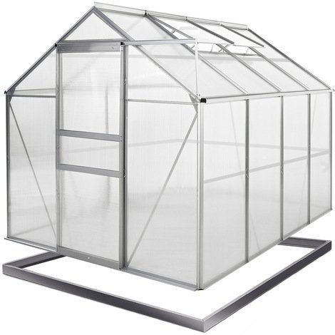 7.6 m³ Greenhouse Garden Growhouse