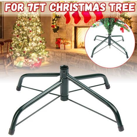 "main image of ""7FT Christmas Tree Stand Metal Holder Base 4 Feet"""