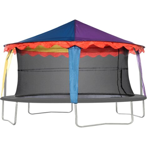 """main image of """"7ft x 10ft Oval Circus Tent Canopy"""""""
