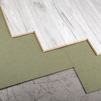 7m2 Wood and Laminate 5mm Thick Premium Laminate Flooring Underlay - Green Parquet Boards (Pack of 15)