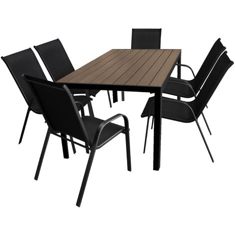 7tlg Gartengarnitur Gartenmobel Terrassenmobel Set Sitzgruppe
