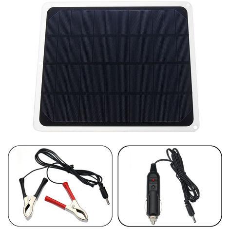 7W 12V USB Panel solar Cargador de batería Portable RV Phone Car