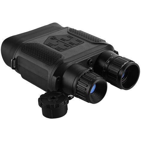 7x31 dia / noche vision binocular nocturna digital de infrarrojos de vision Alcance camara de fotos y Video Recorder 400 metros / 1.300 pies intervalo 2, Negro