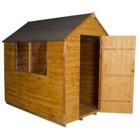 7'x5' Forest Overlap Apex Shed Dip Treated