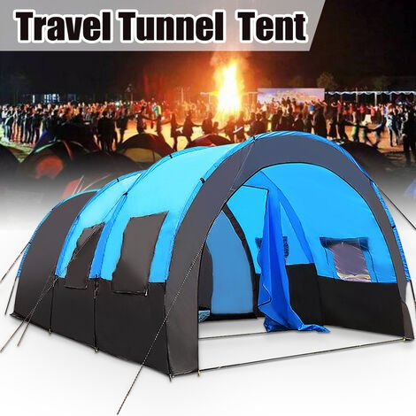 8-10 people Tunnel Shop Sun protection Rain Camping Outdoor Trip Mohoo