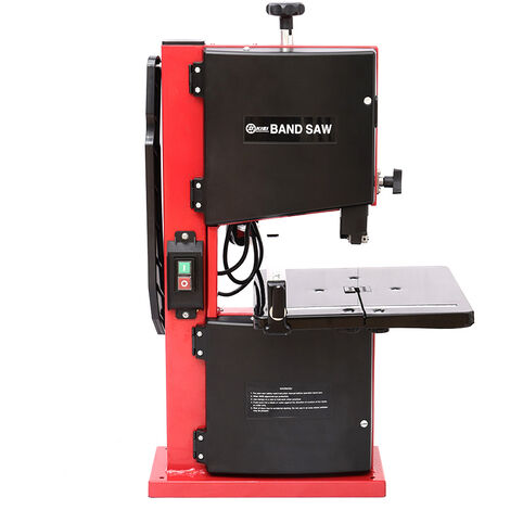 """8\"""" Band Saw Cast Table Blade 80mm Cutting Height Electric Bench Top Bandsaw 230V"""