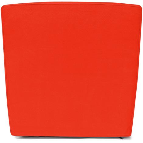 8 Housses de siège coussins de chaise - Orange - Pour salon de jardin 8-1