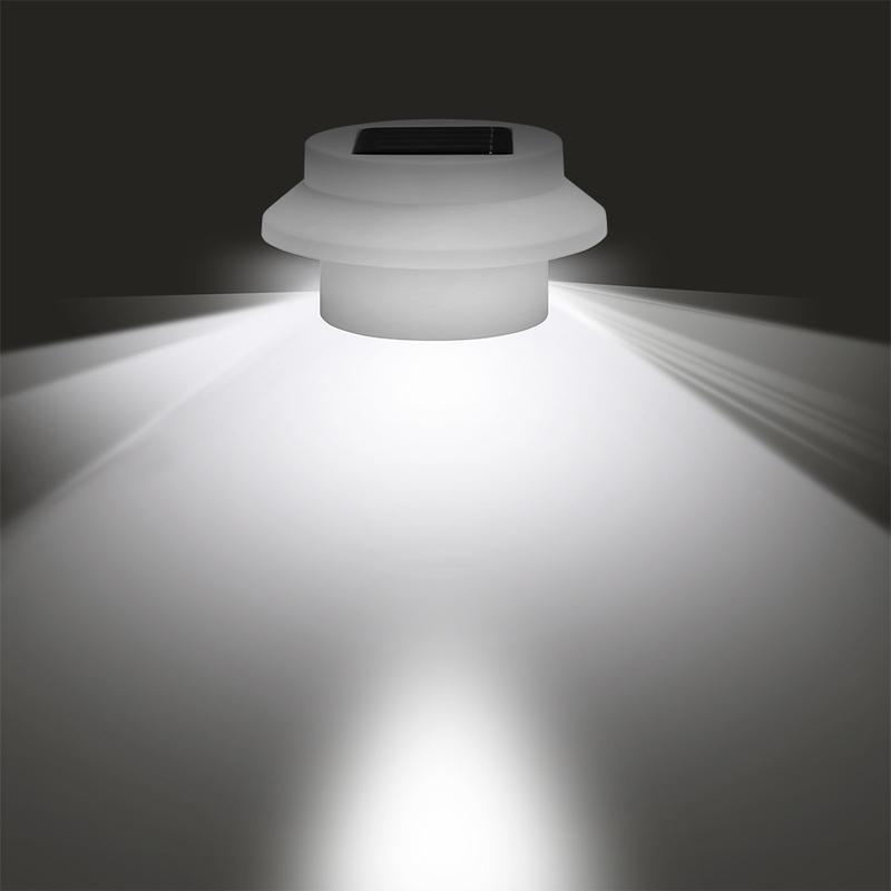 Lampes 8 Lumières Batterie Led Solaires Rechargeable Jardin Terrasse Extérieurs sthrBQCxd