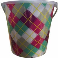 8 Litre Deluxe Bucket Plaid