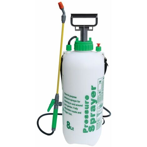 8 Litre Garden Pump Action Pressure Sprayer