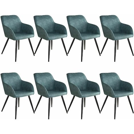 8 Marilyn Fabric Chairs