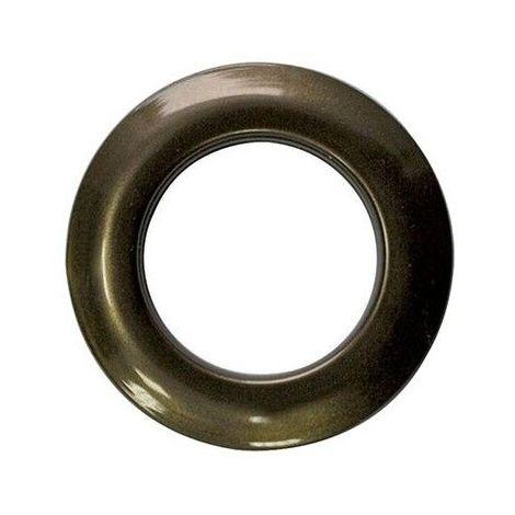 "main image of ""8 Oeillets Clipsables ø 44 mm Coloris - oeillet C020 bronze - oeillet C020 bronze"""