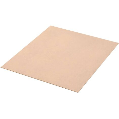 8 pcs MDF Sheets Square 60x60 cm 12 mm - Beige