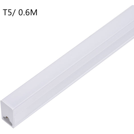 8 PCS Tubo de luz LED T5 T8 integrado