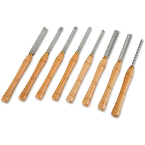 8-piece turning knife set HSS turning chisel HSS turning chisel HSS turning tool chisel