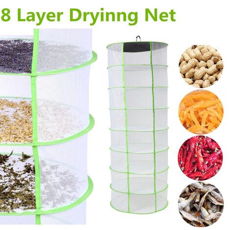 8 plegables capas hidropónicos nivelan 2FT crecen bandeja seco suspendido Mohoo