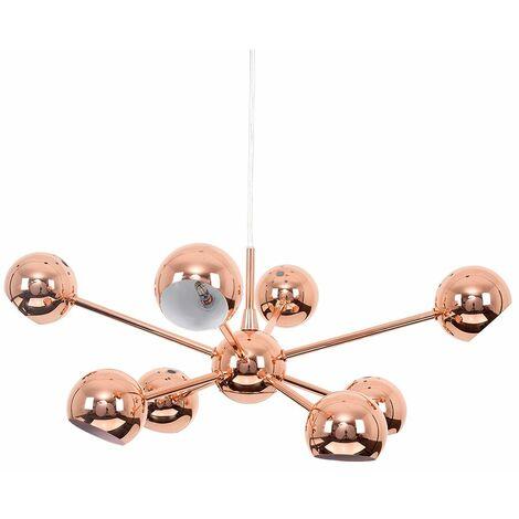 8 Way Cosmic Ceiling Light - Copper - Copper